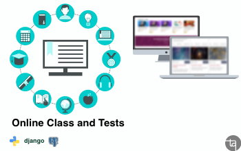 Technoarch Softwares - Online Class and Tests Project